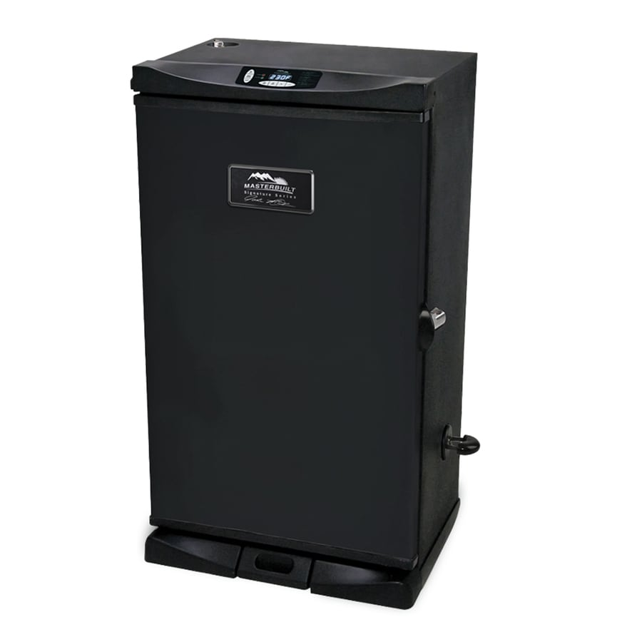 Masterbuilt JMSS 800-Watt Electric Vertical Smoker (Common: 30-in; Actual: 32.126-in)