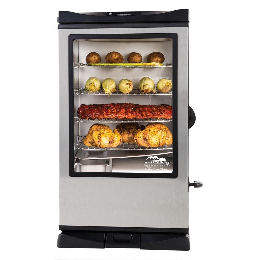 Masterbuilt JMSS 1200-Watt Electric Vertical Smoker (Common: 40.472-in; Actual: 40.472-in)