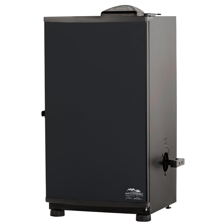 masterbuilt jmss 800watt electric vertical smoker common 33268in actual