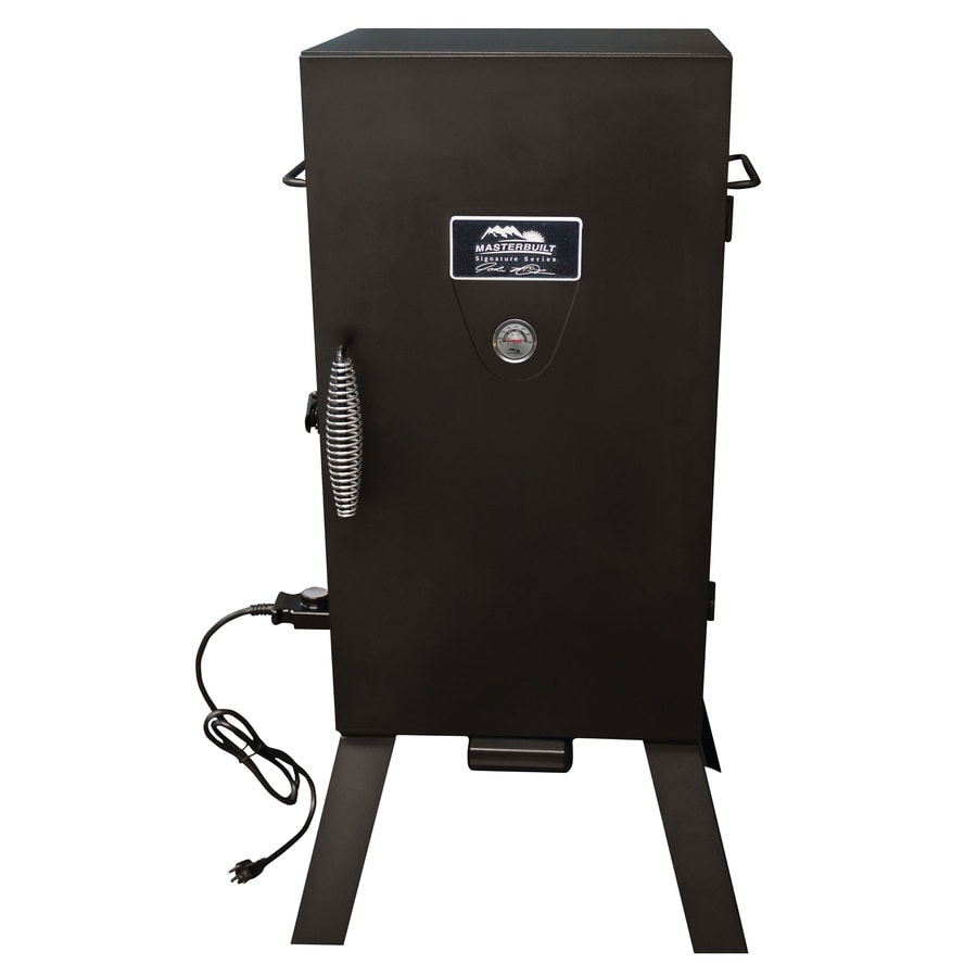 Masterbuilt JMSS 1500 Watt Black Electric Vertical Smoker (Common:  41.157 In;
