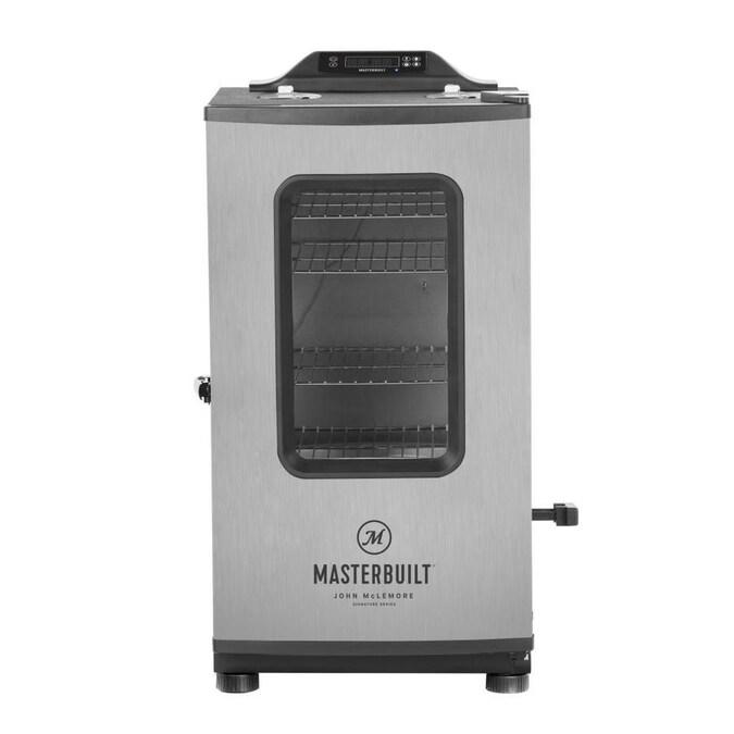 Masterbuilt John McLemore Signature Series 711.14-sq in Silver Smart Electric Smoker