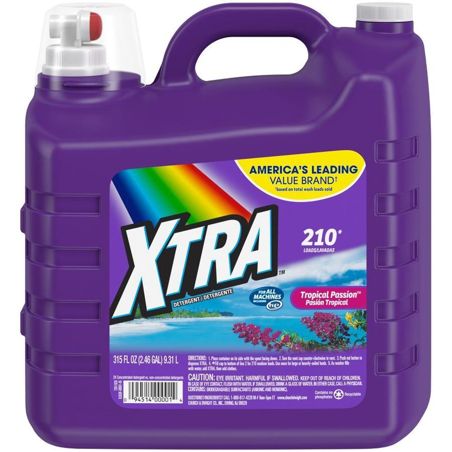 XTRA 315-fl oz Tropical Passion HE Laundry Detergent
