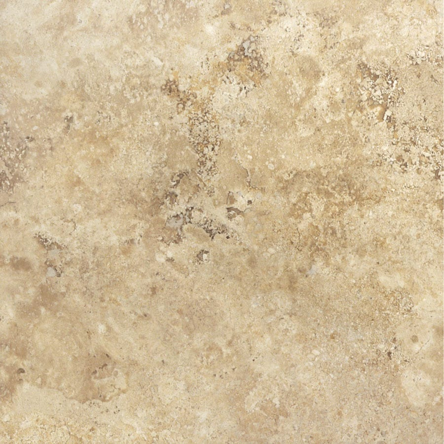 Cryntel 18-in x 18-in Romastone Saturnia Stone Finish Luxury Vinyl Tile