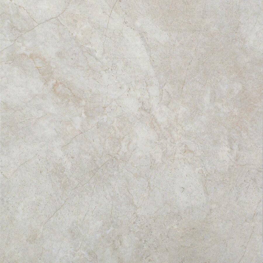Cryntel 18-in x 18-in Romastone Sterling Stone Finish Luxury Vinyl Tile