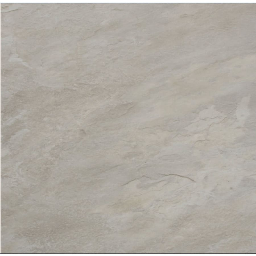 Cryntel Visions 1-Piece 12-in x 12-in Glacier Peel-And-Stick Stone Vinyl Tile