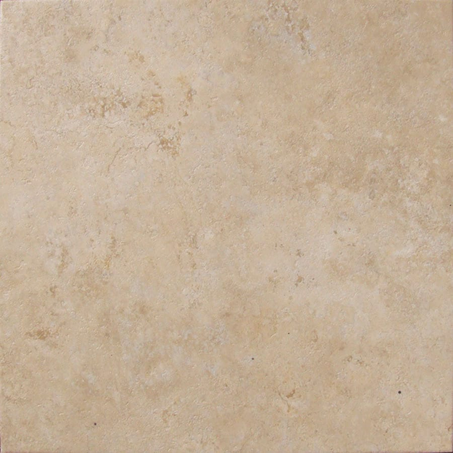 Cryntel Visions 1-Piece 18-in x 18-in Beige Peel-And-Stick Stone Residential Vinyl Tile