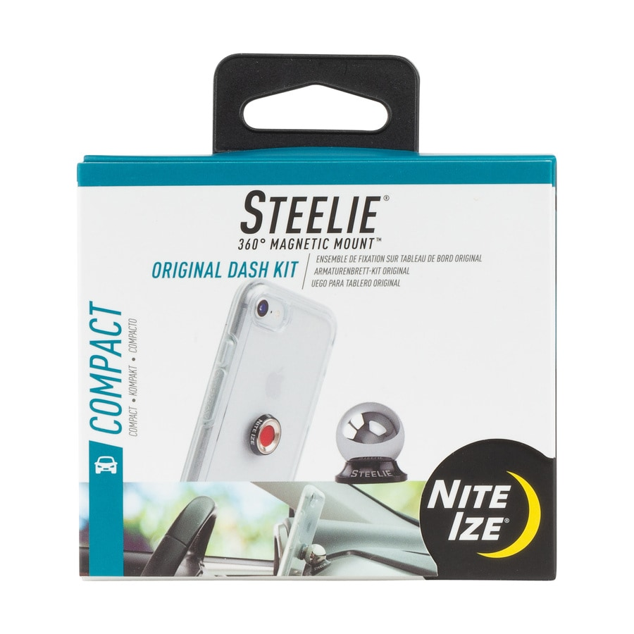 Nite Ize Steelie Silver Adjustable Car Mount for Universal Cell Phones
