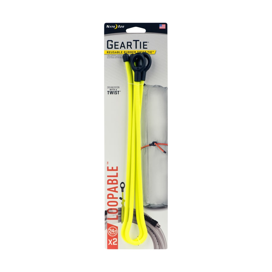 Nite Ize 2-Pack 24-in Cable Ties