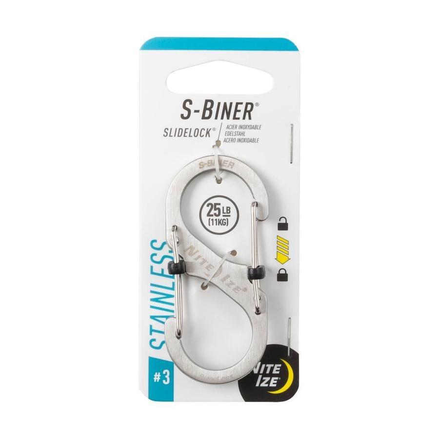 Nite Ize S-Biner Slidelock #3- Stainless