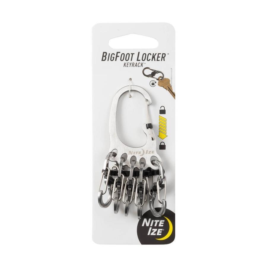 Nite Ize Bigfoot Locker Keyrack- Stainless