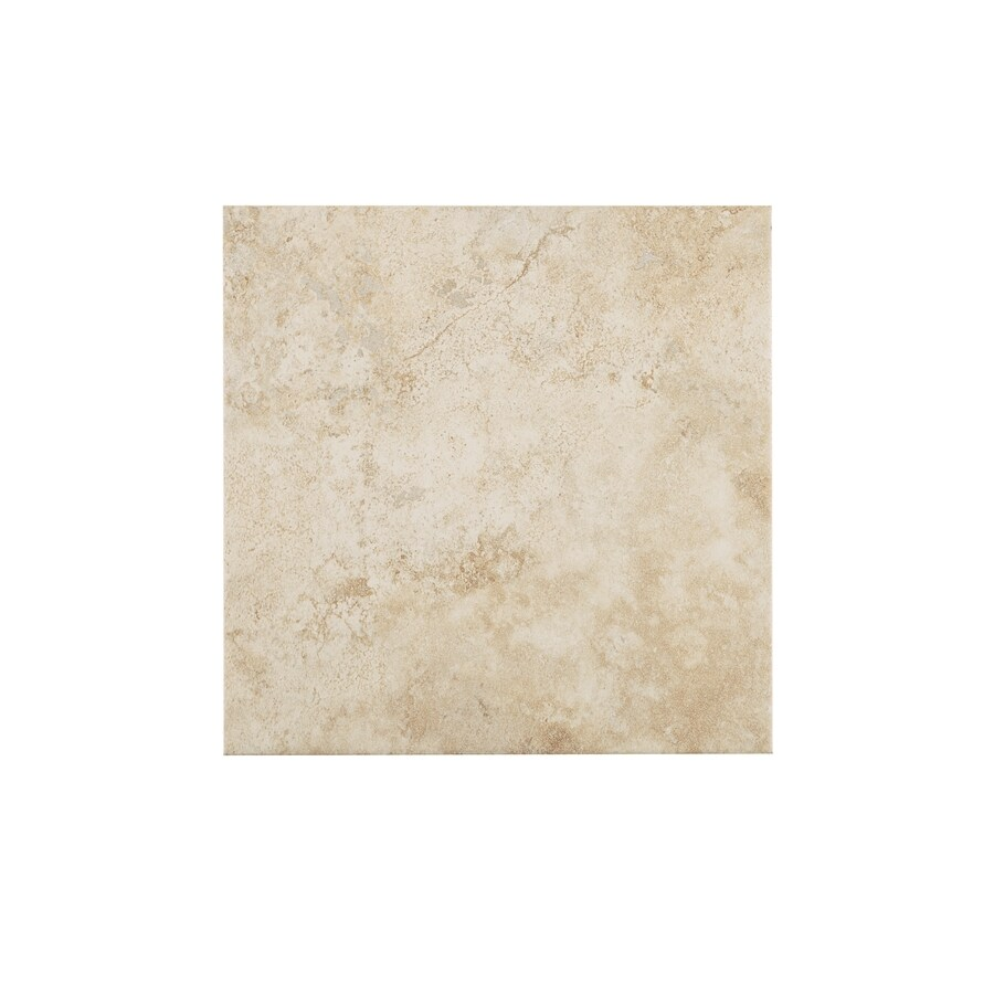Style Selections Capri Classic Porcelain Floor Tile (Common: 12-in x 12-in; Actual: 11.81-in x 11.81-in)