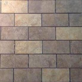 GBI Tile & Stone Inc. Monaco Mixed/Glazed Porcelain 12-in x 12-in Porcelain Brick Mosaic Subway Tile (Common: 12-in x 12-in; Actual: 11.81-in x 11.81-in)