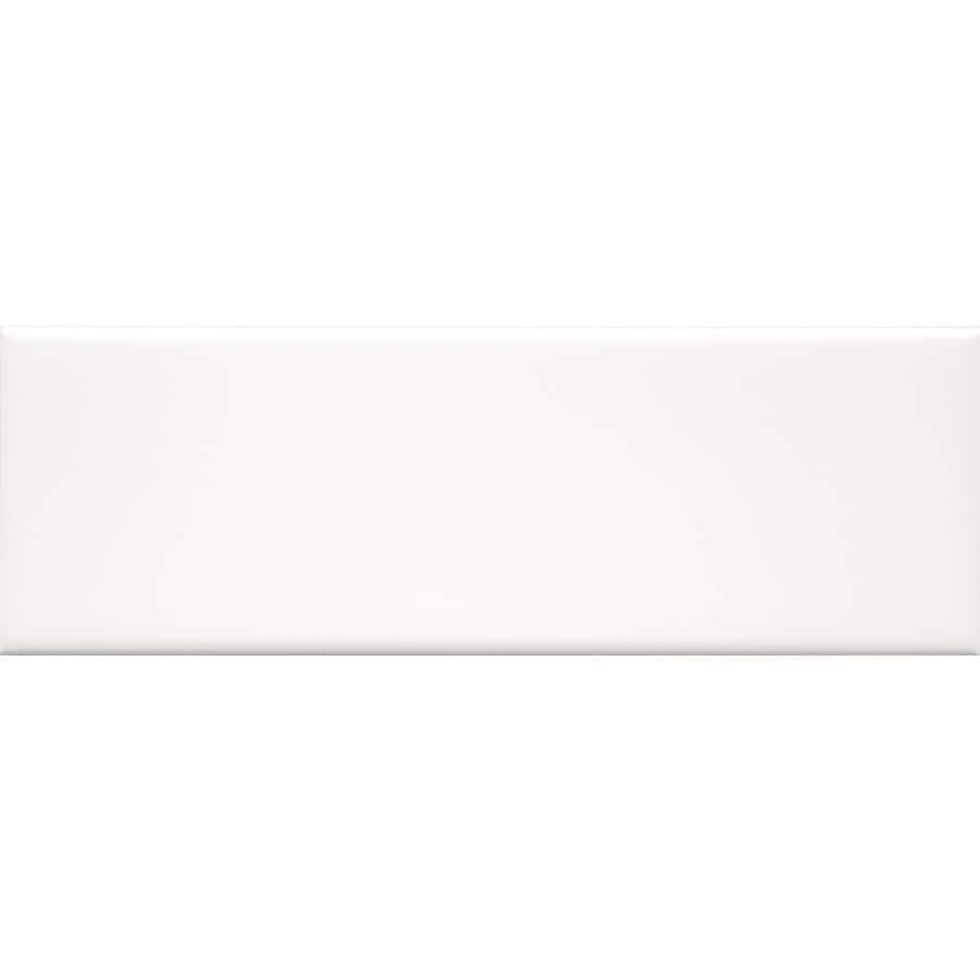 allen + roth Allen + Roth 9-Pack White Ceramic Wall Tile (Common: 4-in x 12-in; Actual: 3.94-in x 11.69-in)