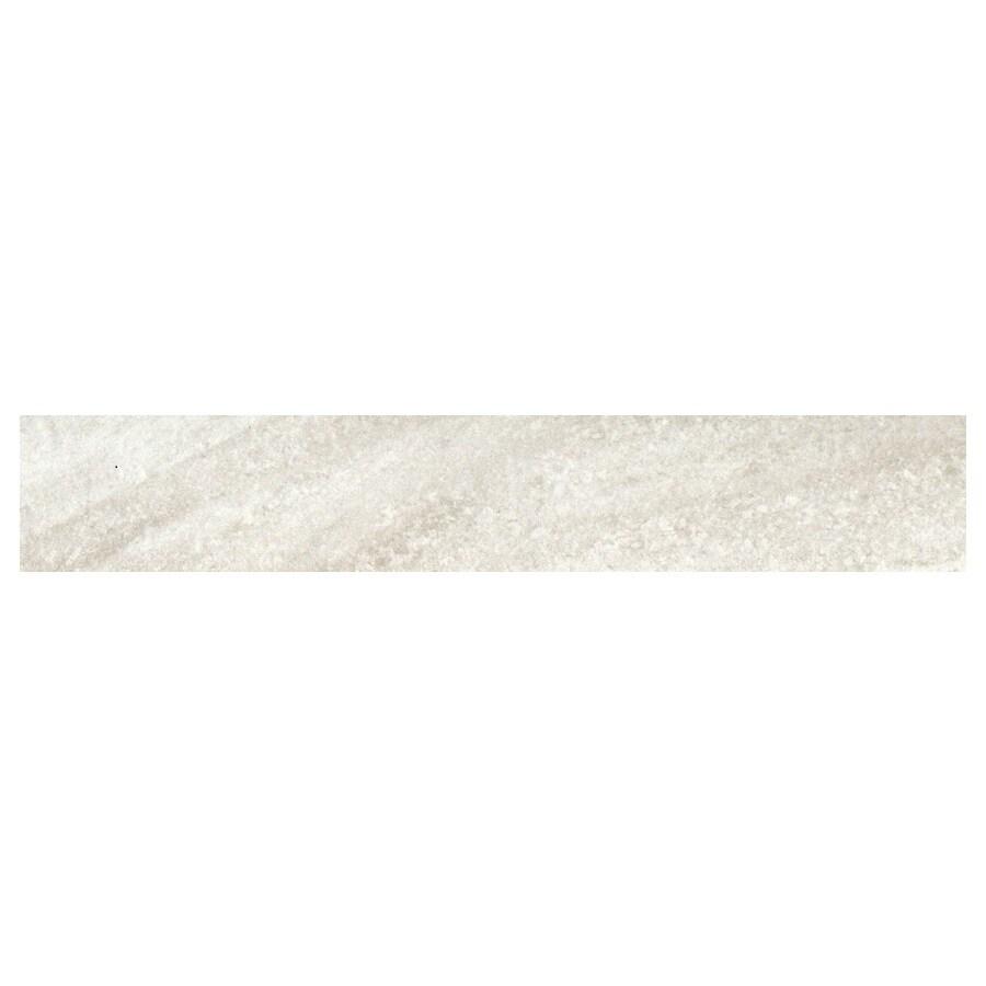 GBI Tile & Stone Inc. 2.89-in x 11.63-in Frost Bullnose Tile