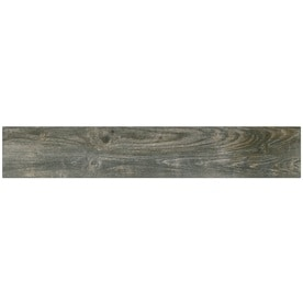 Style Selections Kaden Reclaimed 6-in x 36-in Porcelain Wood Look Floor and Wall Tile (Common: 6-in x 36-in; Actual: 5.83-in x 35.43-in)