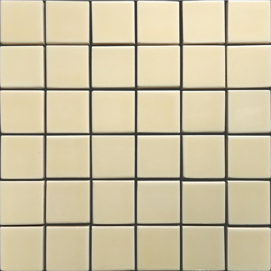 allen + roth Allen + Roth Fawn Uniform Squares Mosaic Ceramic Wall Tile (Common: 12-in x 12-in; Actual: 11.77-in x 11.81-in)