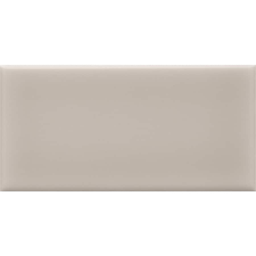 Shop allen roth pearl ceramic subway tile common 3 in x 6 in allen roth pearl ceramic subway tile common 3 in x 6 dailygadgetfo Image collections
