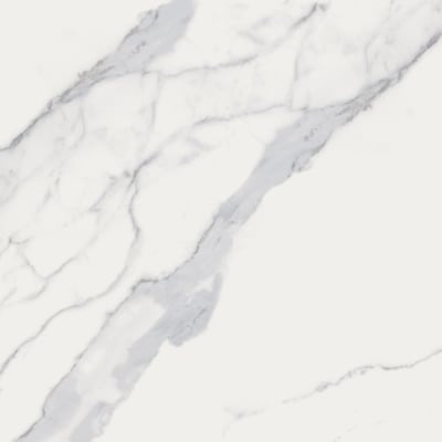 Calacatta White 12 In X Porcelain Marble Floor And Wall Tile Common Actual 11 7