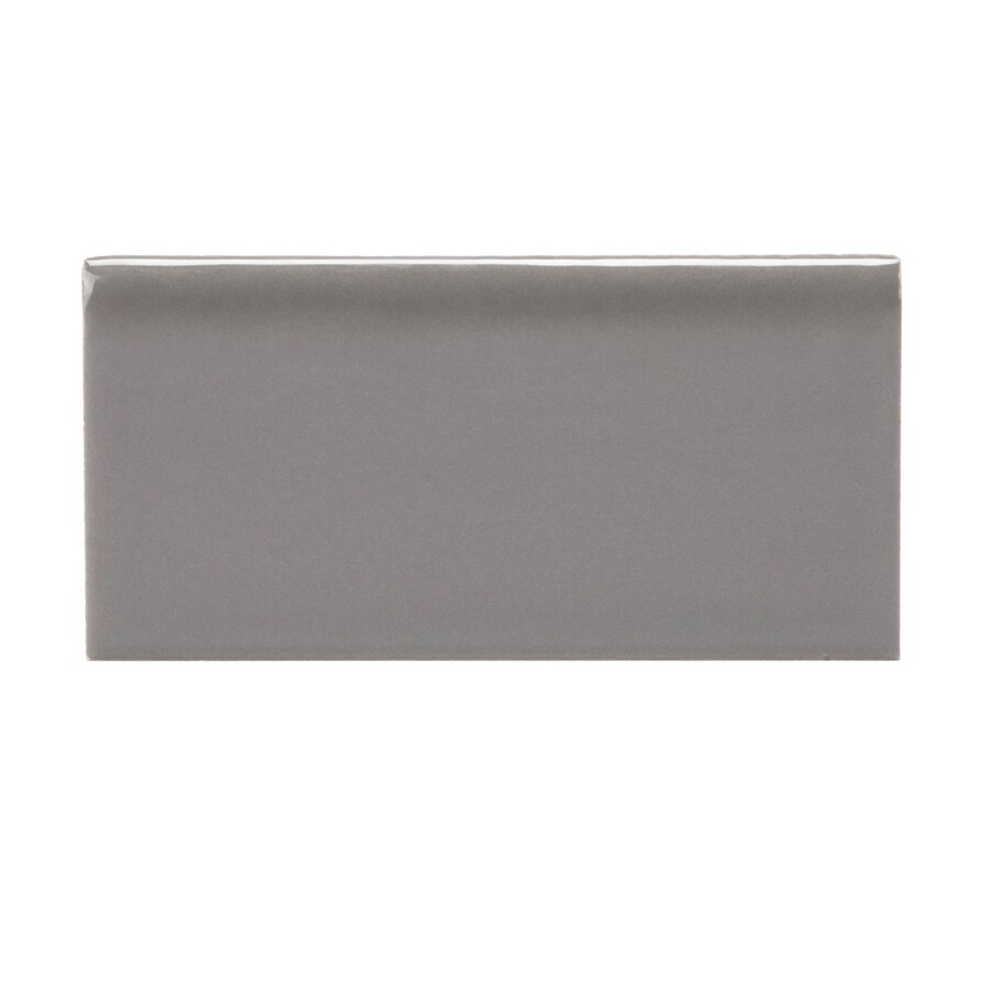 Allen Roth Allen Roth Charcoal Ceramic Wall Tile
