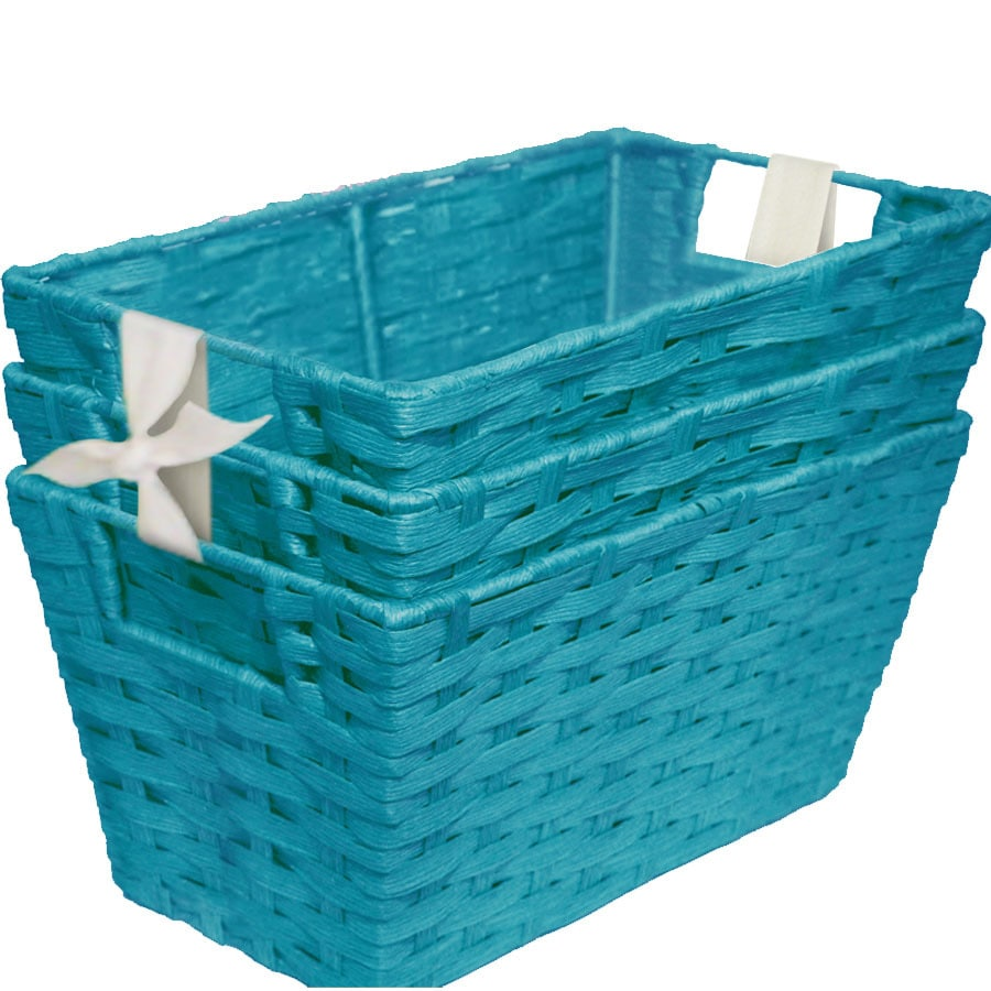 7-in W x 10-in H x 12-in D Woven Cord Tote