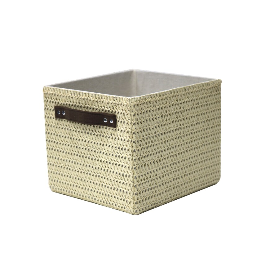 11-in W x 9-in H x 10-in D Natural Paper Milk Crate