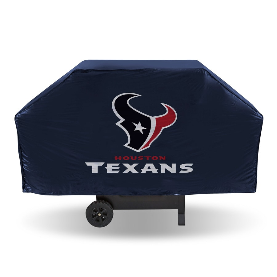 Rico Industries/Tag Express 68-in x 21-in Navy Vinyl Houston Texans Cover