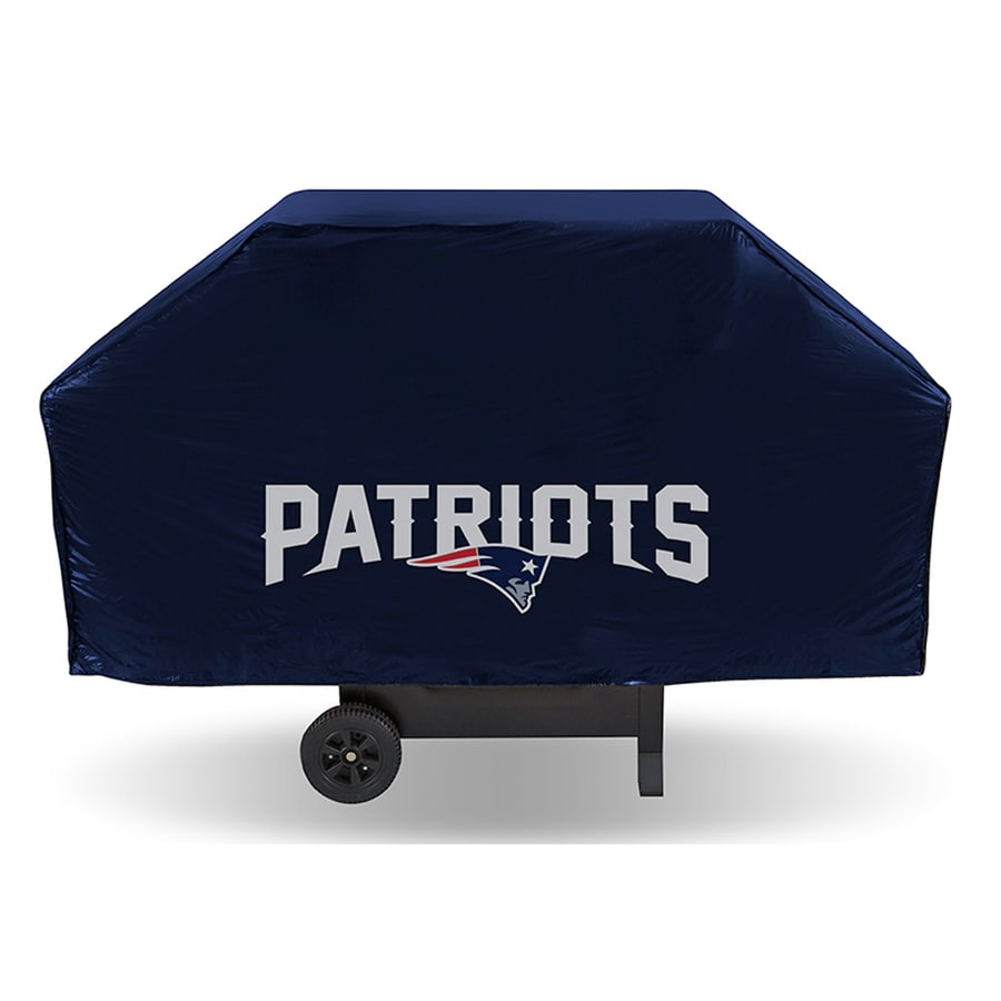 Rico Industries/Tag Express 68-in x 21-in Navy Vinyl New England Patriots Cover