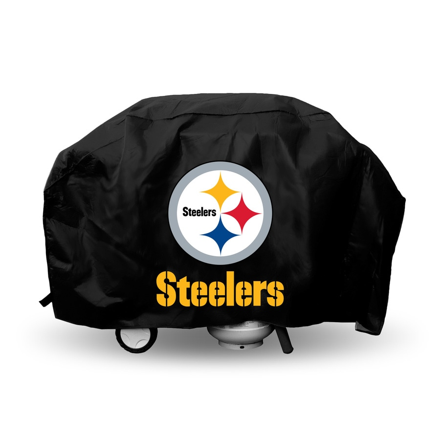 Rico Industries/Tag Express 68-in x 21-in Vinyl Pittsburgh Steelers Cover