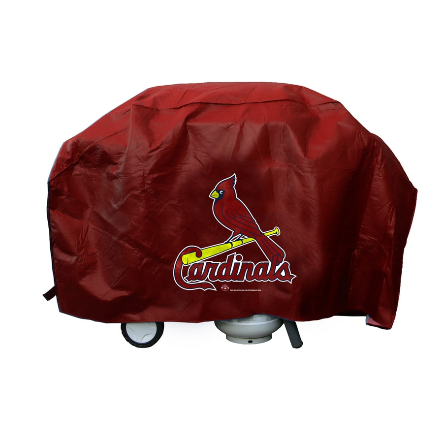 Rico Industries/Tag Express 68-in x 35-in Vinyl St. Louis Cardinals Grill Cover Fits Most Universal