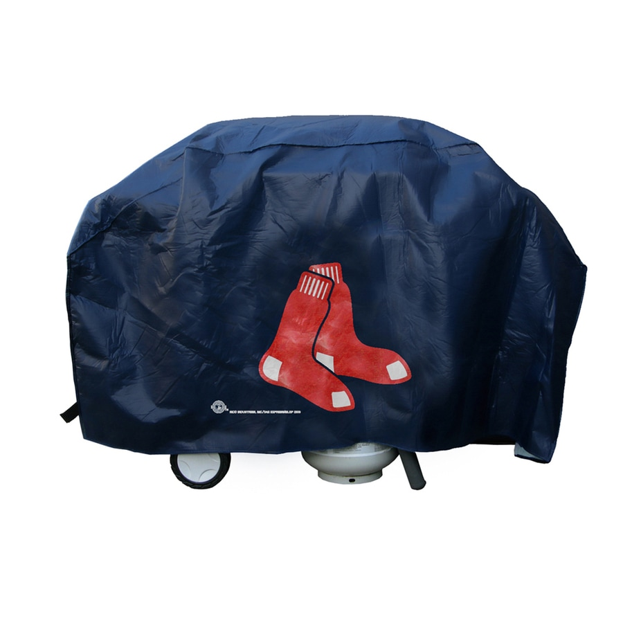 68-in x 35-in Vinyl Boston Red Sox Grill Cover Fits Most Universal