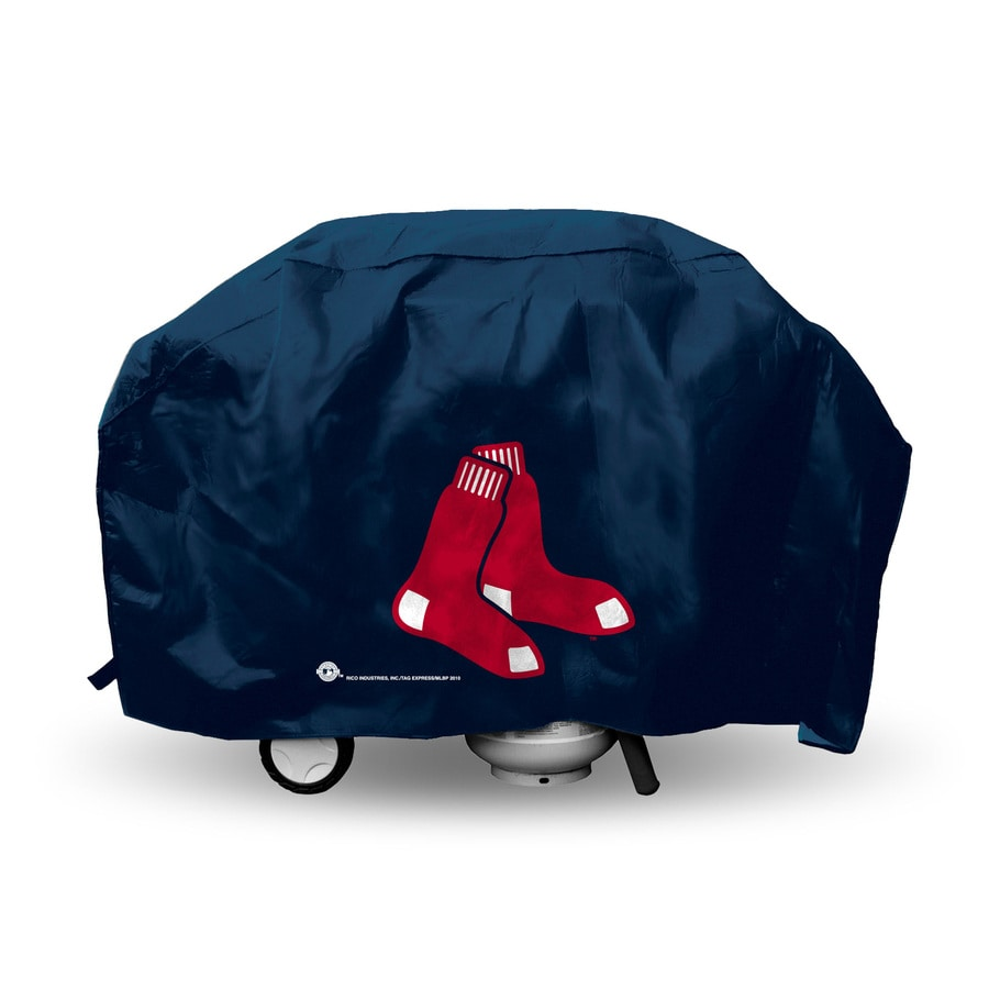 Rico Industries/Tag Express 68-in x 21-in Navy Vinyl Boston Red Sox Cover