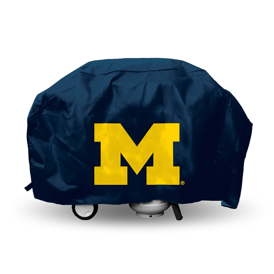 Rico Industries/Tag Express University Of Michigan Wolverines Navy Vinyl 68-in Cover