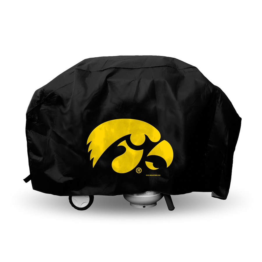 Rico Industries/Tag Express 68-in x 21-in Vinyl University Of Iowa Hawkeyes Cover