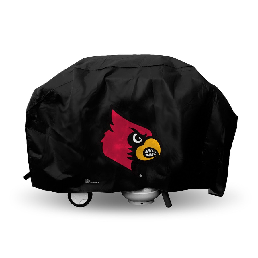 Rico Industries/Tag Express University Of Louisville Cardinals Black Vinyl 68-in Cover