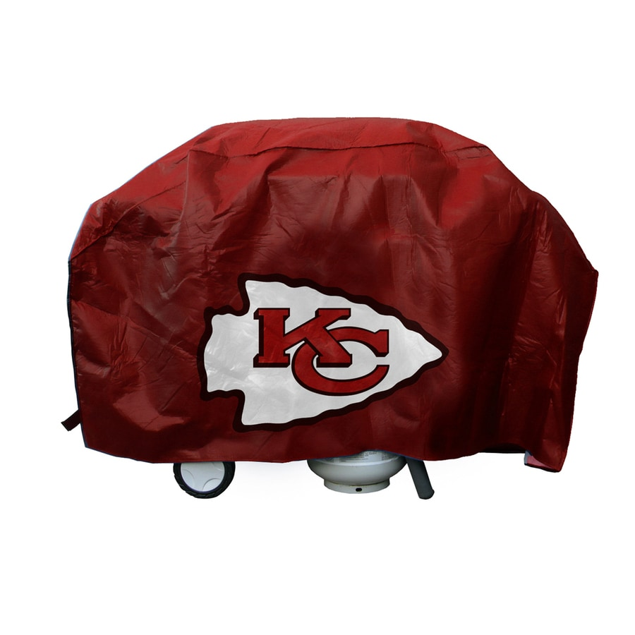 68-in x 35-in Vinyl Kansas City Chiefs Grill Cover Fits Most Universal