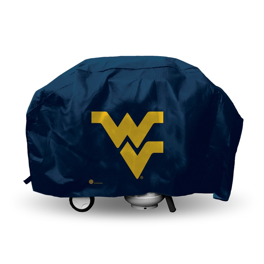 Rico Industries/Tag Express 68-in x 21-in Navy Vinyl West Virginia University Mountaineers Cover