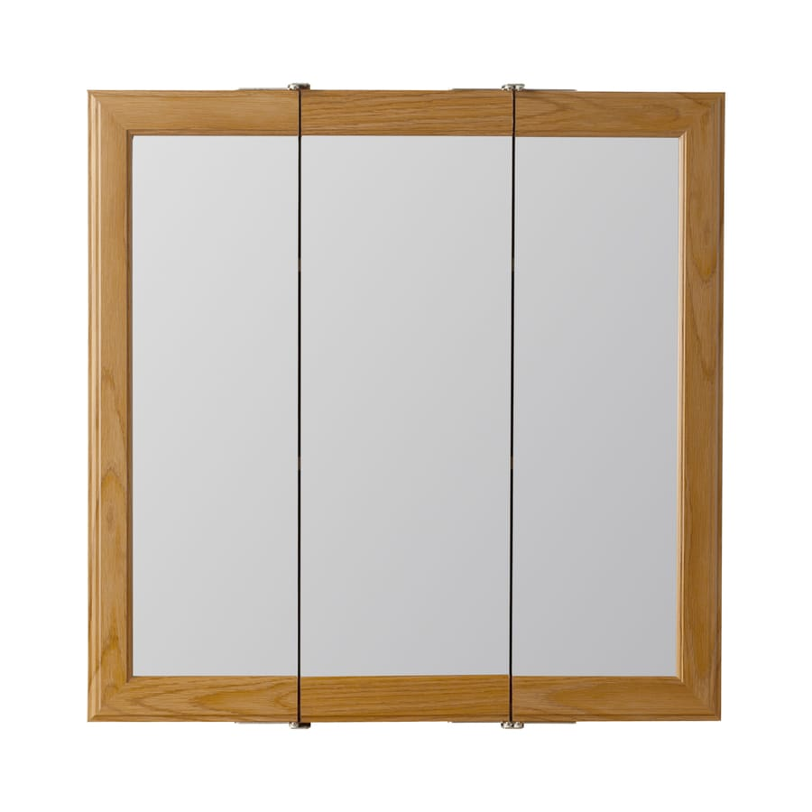 Style Selections 24.25-in x 24-in Surface Medicine Cabinet