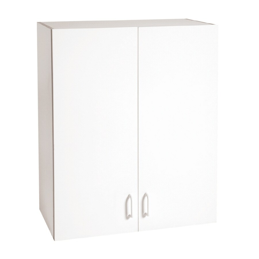 Stor-It-All 23.625-in W x 30-in H x 12.375-in D Wood Composite Garage Cabinet