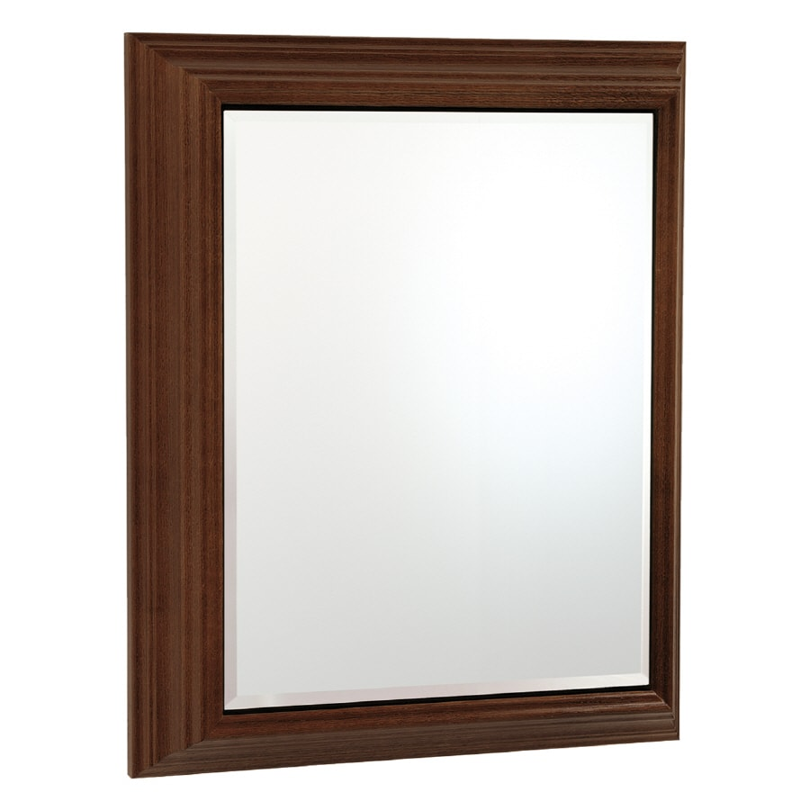 Estate By Rsi 22 5 In X 27 Rectangle Surface Mirrored Wood Medicine Cabinet