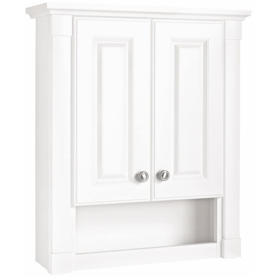 ESTATE by RSI Southport 24.75-in W x 29.25-in H x 7.75-in D Bathroom Wall Cabinet