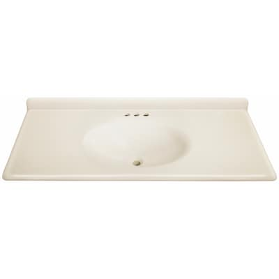 Estate By Rsi Cultured Marble Integral Single Sink Bathroom