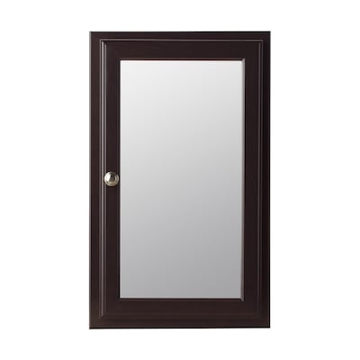 15 75 In X 25 Rectangle Surface Recessed Medicine Cabinet With Mirror