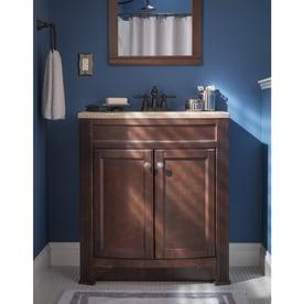 Shop Style Selections Delyse Auburn Single Sink Vanity