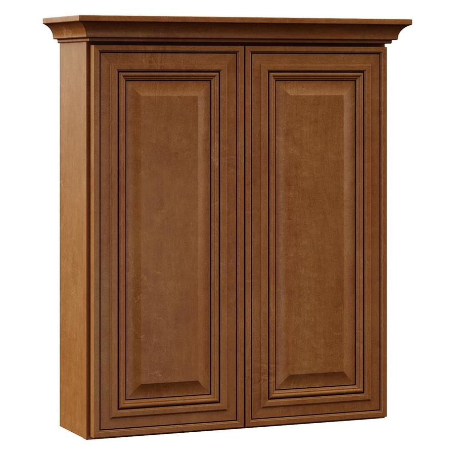 VILLA BATH by RSI 24-in W x 28.5-in H x 7.25-in D Canyon Bathroom Wall Cabinet
