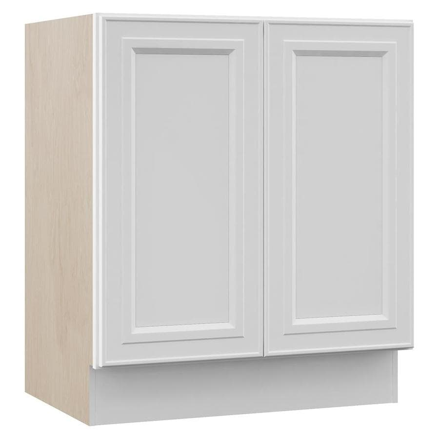 Shop Villa Bath By Rsi White Bathroom Vanity Common 30 In X 22 In Actual 30 In X 21 5 In At