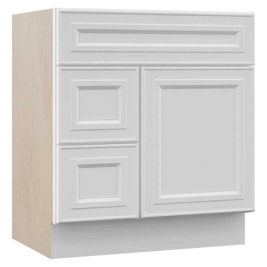 Villa Bath By Rsi Catalina 30 In White Bathroom Vanity Cabinet