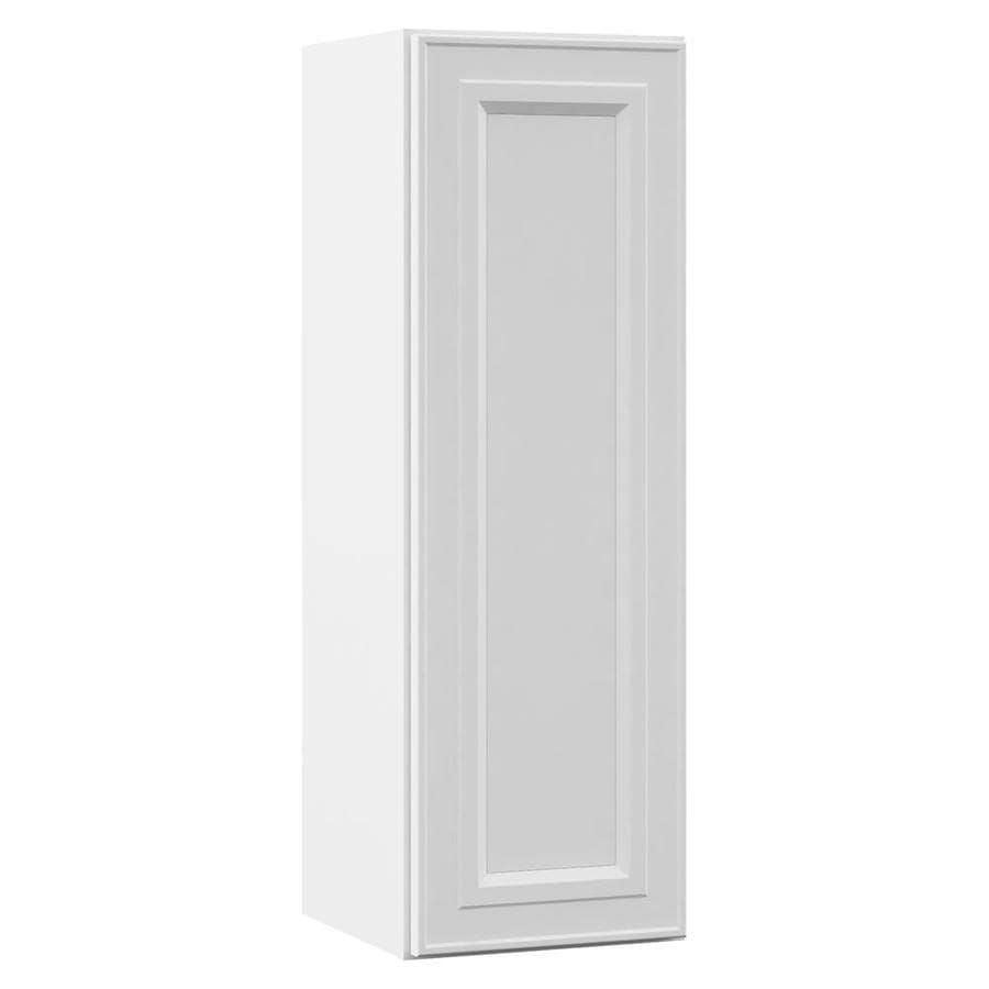VILLA BATH by RSI 12-in W x 36-in H x 13-in D White Bathroom Wall Cabinet
