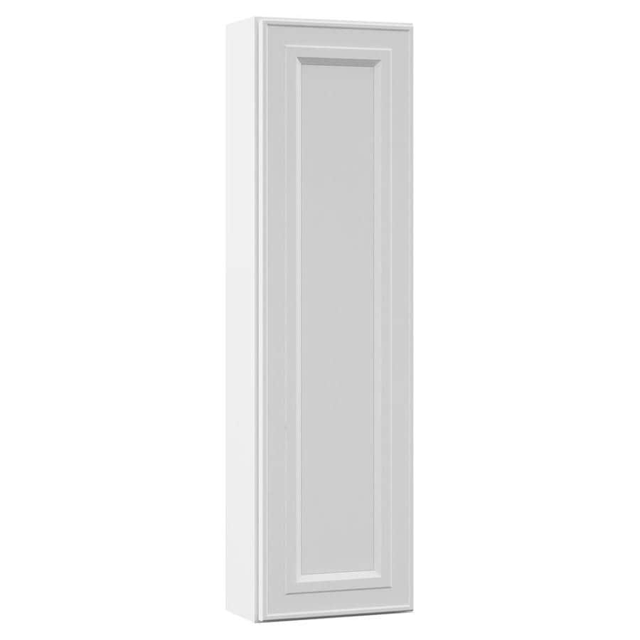 VILLA BATH by RSI 12-in W x 42-in H x 7.25-in D White Bathroom Wall Cabinet