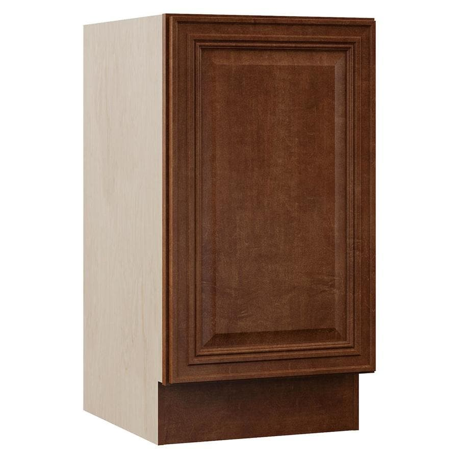 VILLA BATH by RSI Cognac Bathroom Vanity (Common: 18-in x 22-in; Actual: 18-in x 21.5-in)