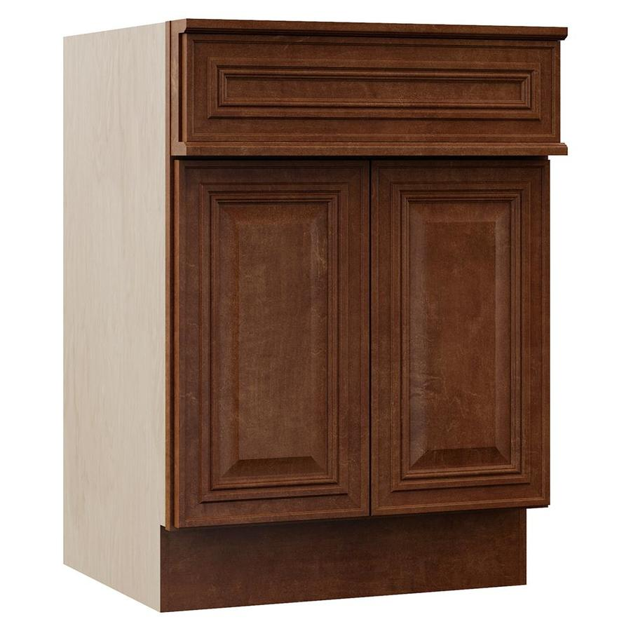 VILLA BATH by RSI Cognac Bathroom Vanity (Common: 24-in x 23-in; Actual: 24-in x 23-in)